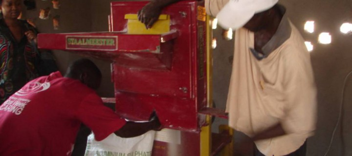 Maize Grinding Machine for Mutemwa Leprosy Village